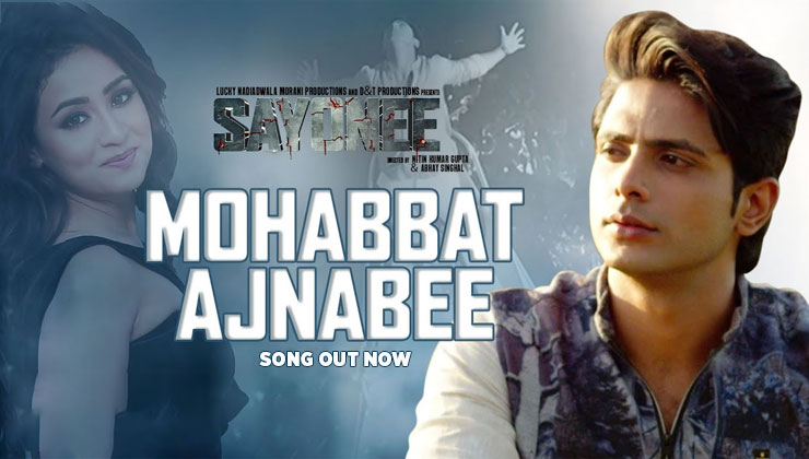 Mohabbat Ajnabee Song: Tanmay Ssingh & Musskan Sethi come up with an emotional romantic track   Bollywood Bubble
