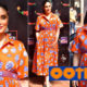 Mommy-to-be Kareena Kapoor makes a stylish appearance in this lovely orange midi dress - view pics | Bollywood Bubble