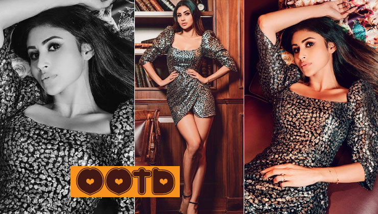 Mouni Roy slays in stunning sequin dress by adding a sophisticated touch to it-view pics   Bollywood Bubble