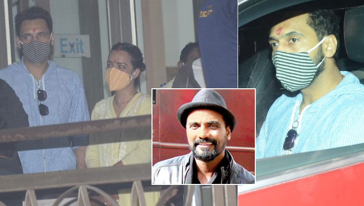 Newlyweds Punit Pathak and Nidhi Moony Singh visit ailing Remo D'Souza at the hospital-watch video   Bollywood Bubble