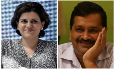 Nidhi Razdan propagates AAP's fake claims of Kejriwal being under 'house arrest'