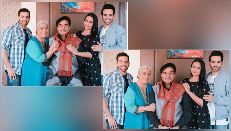 On Shatrughan Sinha's birthday, Sonakshi shares a lovely family pic; veteran actor reveals why he canceled the celebration | Bollywood Bubble