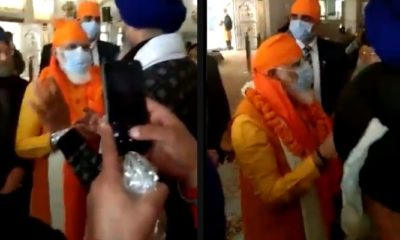 PM Modi visits Gurudwara Rakab Ganj Sahib where Guru Tegh Bahadur was cremated after execution by Aurangzeb