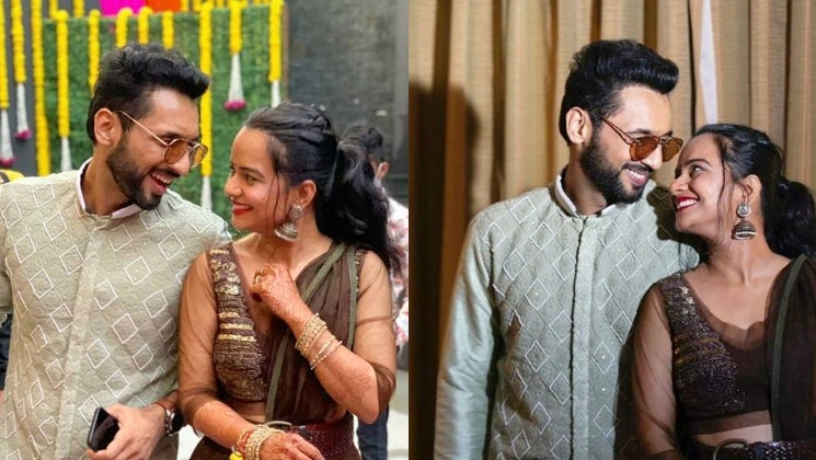 Punit Pathak and Nidhi Moony Singh's pre-wedding festivities' pictures will melt your heart   Bollywood Bubble