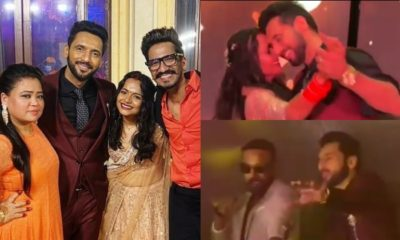 Punit Pathak and Nidhi Moony Singh's wedding reception was nothing short of a gala affair- check out inside pics and videos | Bollywood Bubble