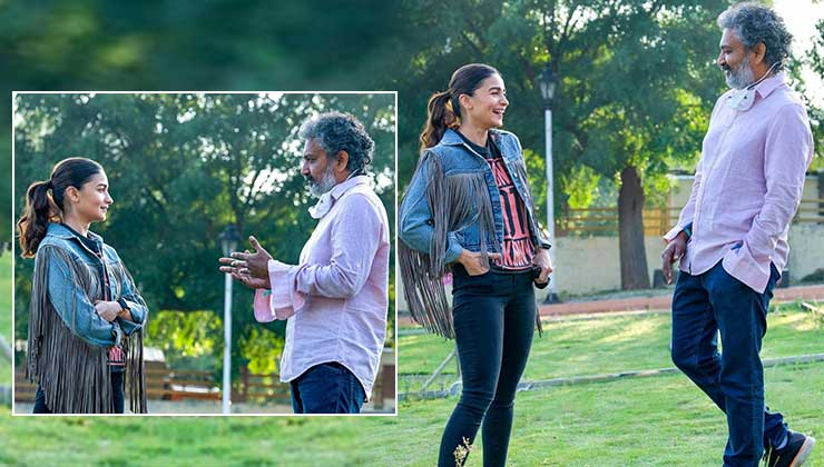 RRR: Alia Bhatt begins shooting for SS Rajamouli's period drama | Bollywood Bubble
