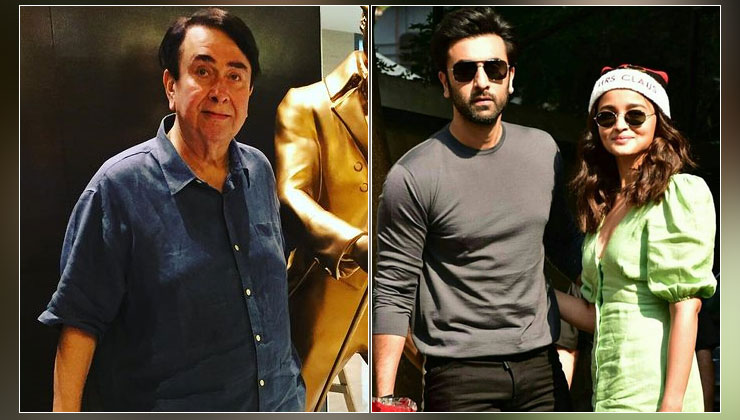 Randhir Kapoor refutes reports of Alia Bhatt and Ranbir Kapoor's engagement | Bollywood Bubble