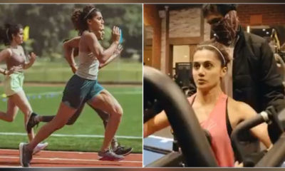 Rashmi Rocket: Taapsee Pannu prepping for the sports biopic will leave you bewildered | Bollywood Bubble