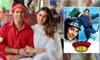 Sara Ali Khan has THIS to say about the problematic aspects of original Coolie No 1 | Bollywood Bubble