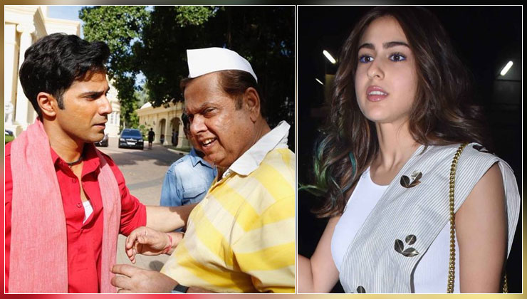 """Sara Ali Khan recalls an incident from 'Coolie No 1' set; says, """"David Dhawan was angry at Varun Dhawan but vented it out on me""""   Bollywood Bubble"""