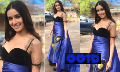 Shraddha Kapoor exudes elegance in this classy blue and black gown | Bollywood Bubble