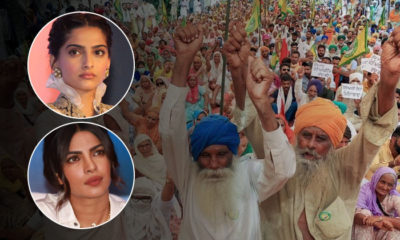 After Diljit Dosanjh, Priyanka Chopra and Sonam Kapoor extend their support to protesting farmers | Bollywood Bubble