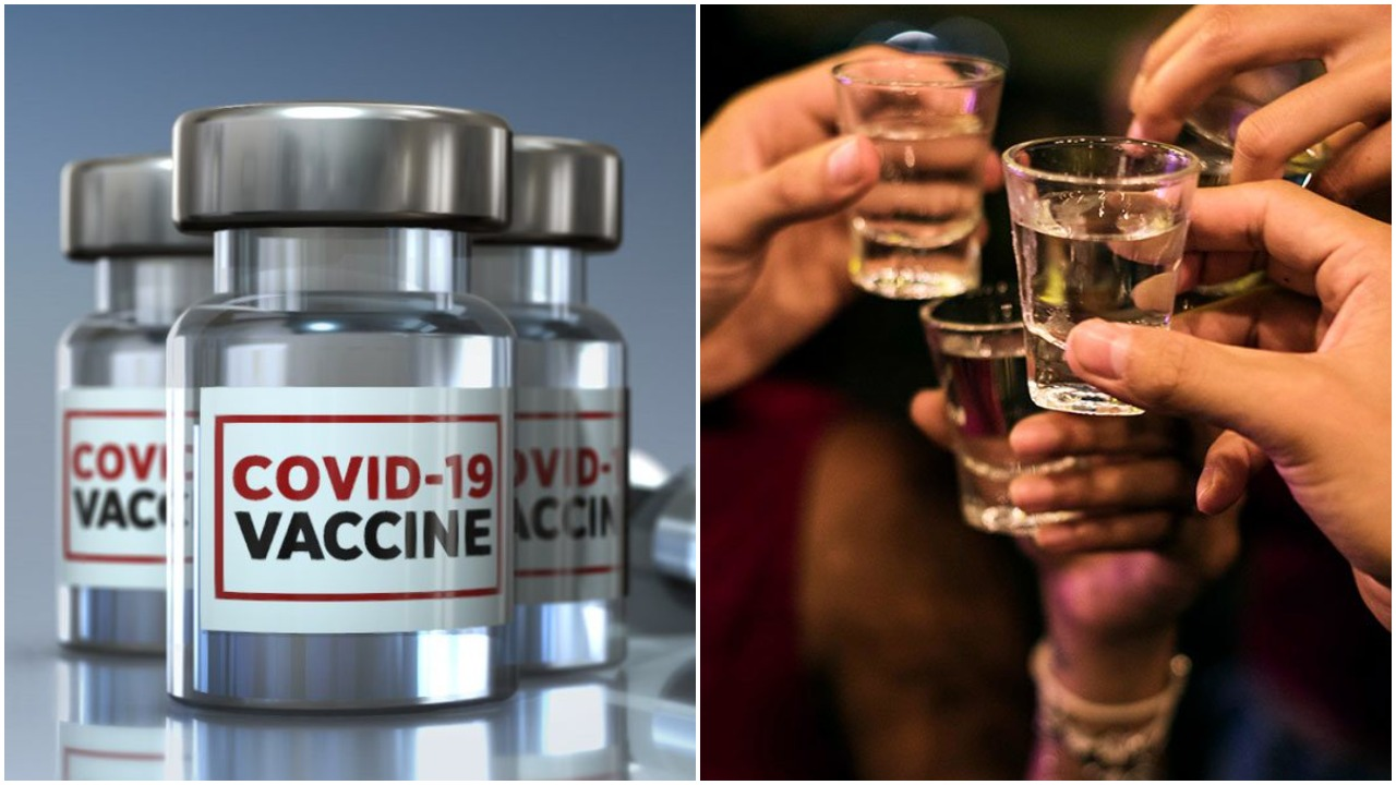 'Stay away from alcohol if you want COVID vaccine to work': Russian authorities