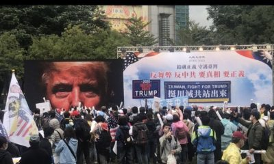 'Stop the Steal': Rally in Taipei, Taiwan in support of Donald Trump