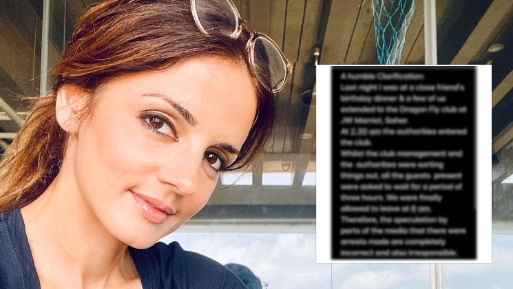 Sussanne Khan reacts to reports about her arrest; calls it 'completely incorrect and irresponsible' | Bollywood Bubble
