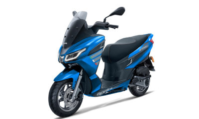 The much awaited Aprilla SXR 160 Maxi Scooter in the Indian market