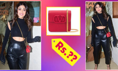 The price of Shilpa Shetty's Valentino Garavani red sling bag will blow your mind | Bollywood Bubble