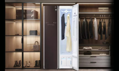 There is no risk of washing, LG Styler will sanitize the clothes