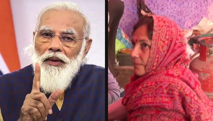 Watch: Woman threatens to stab PM Modi for not rolling back farm laws