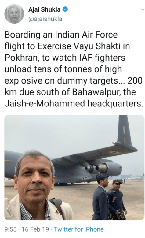 5 media outlets that 'knew about Balakot airstrike beforehand' as per 'liberal' logic