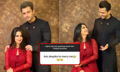 Fan expresses his desire to marry Dipika Kakar; check out Shoaib Ibrahim's witty response | Bollywood Bubble