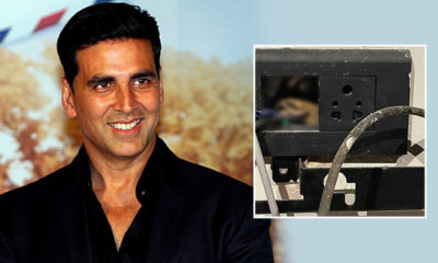 Akshay Kumar shares his bizarre encounter with a frog while searching for a spot to charge his phone | Bollywood Bubble