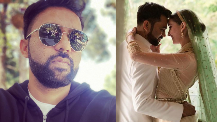 Ali Abbas Zafar finally introduces wife Alicia Zafar to the world; shares a stunning pic from their wedding | Bollywood Bubble