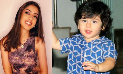Amitabh Bachchan's granddaughter Navya Naveli Nanda is a distant cousin of Taimur Ali Khan | Bollywood Bubble