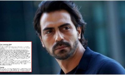 "Arjun Rampal shares the lessons 2020 taught him; clarifies, ""Never been on the wrong side of the law"" 