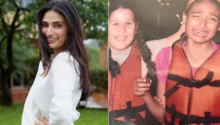 Athiya Shetty's throwback pic with Krishna Shroff from their childhood goes viral | Bollywood Bubble