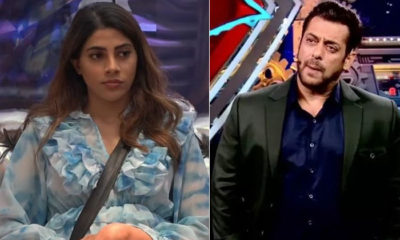 Bigg Boss 14: Nikki Tamboli breaks into tears as Salman Khan schools her for bad behaviour | Bollywood Bubble
