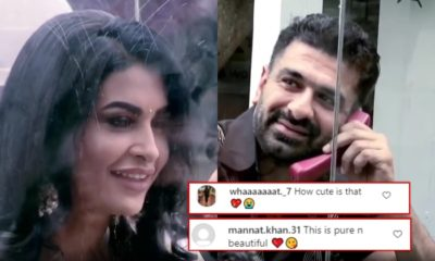 Bigg Boss 14: Pavitra Punia and Eijaz Khan's romantic reunion makes fans go gaga | Bollywood Bubble