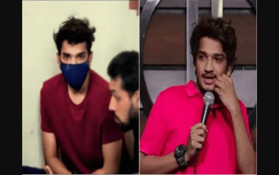 Comedian beat up indecent remark on Amit Shah during live show