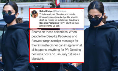Deepika Padukone trending again on Twitter, but not for the right reasons | Bollywood Bubble