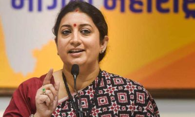 Watch: Smriti Irani speaks fluent Bangla at Howrah rally, slams TMC