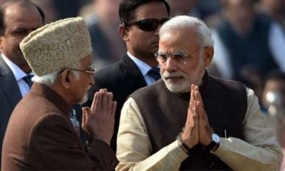 Hamid Ansari reveals PM Modi had complained about Rajya Sabha TV