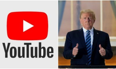 After Facebook and Twitter, YouTube suspends US President Donald Trump's account