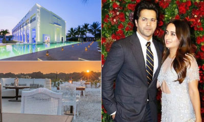 Inside Varun Dhawan and Natasha Dalal's stunning wedding venue in Alibaug; view pics | Bollywood Bubble