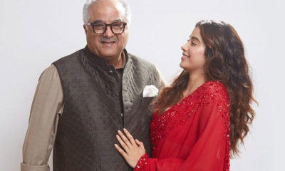 Janhvi Kapoor confesses about lying to dad Boney Kapoor about THIS thing   Bollywood Bubble