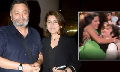 Neetu Kapoor reminiscences her first dance with Rishi Kapoor | Bollywood Bubble