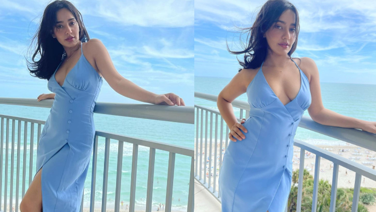 Neha Sharma's viral pics prove that blue is the warmest color and she is the hottest- view pics | Bollywood Bubble