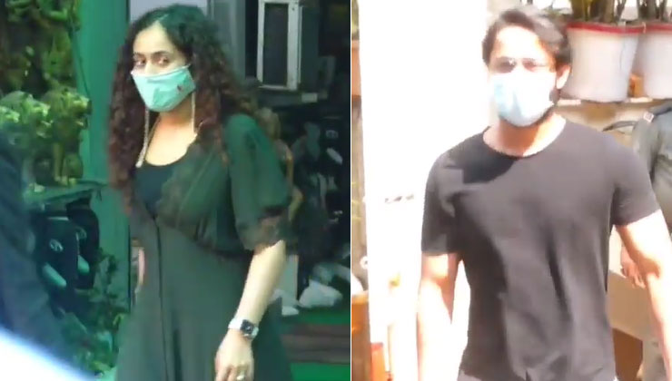 Newlyweds Shaheer Sheikh and Ruchikaa Kapoor get papped outside a clinic together | Bollywood Bubble