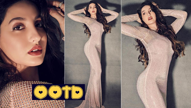 Nora Fatehi's blingy New Year's dress will leave you gasping for more - view pics | Bollywood Bubble