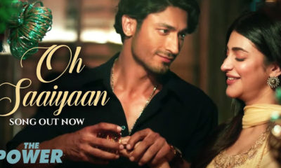 Oh Saaiyaan Song: Arijit Singh's mellifluous vocals for the Vidyut Jammwal-Shruti Haasan starrer will win you over | Bollywood Bubble