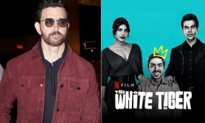 Priyanka Chopra thanks her 'dost' Hrithik Roshan for his reaction on The White Tiger | Bollywood Bubble