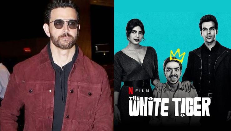 Priyanka Chopra thanks her 'dost' Hrithik Roshan for his reaction on The White Tiger   Bollywood Bubble