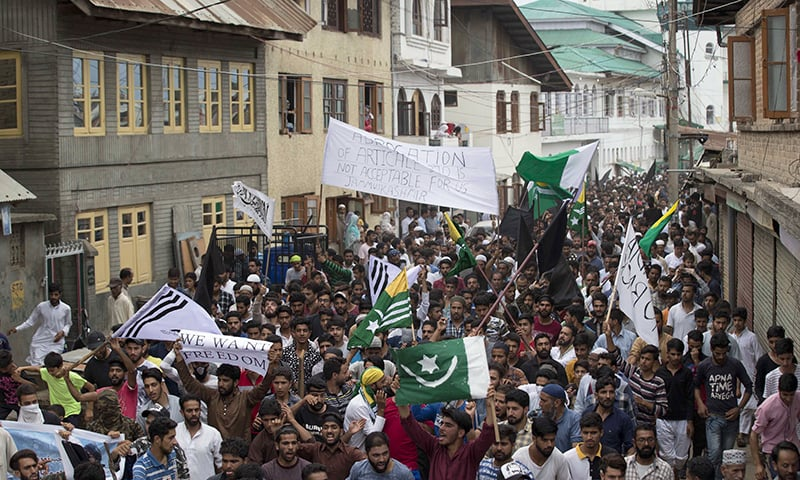 Protests erupt in Pakistan-occupied Kashmir against road by China