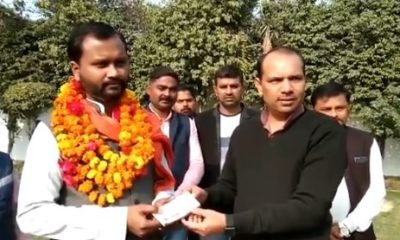 Rae Bareli: Congress MLA rewards Hindu Yuva Vahini leader over Bharti