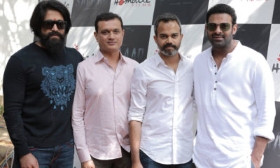 Salaar Launch Event: Prabhas and Yash's pics together go viral | Bollywood Bubble