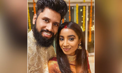 Singer Shilpa Rao gets hitched to Ritesh Krishnan; couple shares first selfie as 'Mr. and Mrs.' | Bollywood Bubble